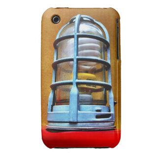 Blue Industrial Cage Lightbulb Urban iPhone 3 Case