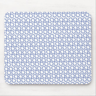 Blue Infinity Mouse Pad