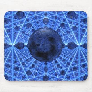 Blue Infinity Mousepad