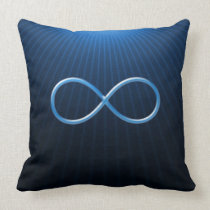 Blue Infinity Symbol | Pillow