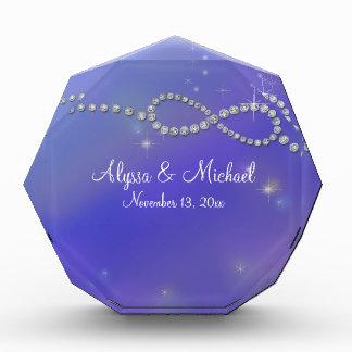 Blue Infinity Symbol Sign Infinite Love Twinkling Award