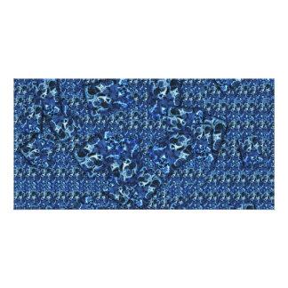 Blue Ink Card