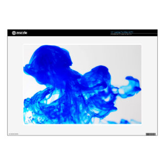 Blue Ink Drop Fine Art Photography Decals For Laptops