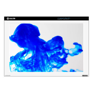Blue Ink Drop Fine Art Photography Decal For Laptop