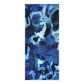 Blue Ink Rack Card