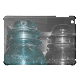 Blue Insulators photo part colored Cover For The iPad Mini