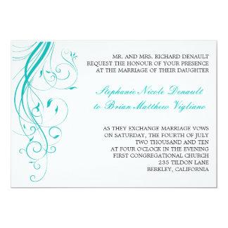 Blue Invitation-RT Card