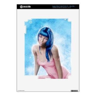 Blue - Ipad Skin