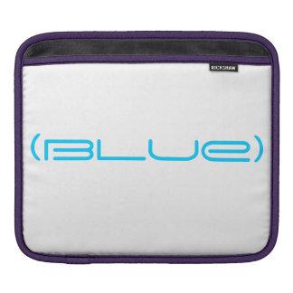 (blue) ipad sleeve