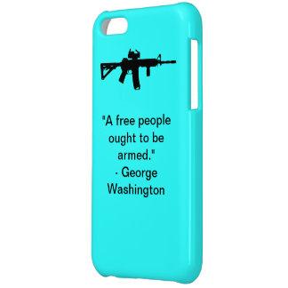 Blue iPhone 5C case