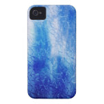 Blue iPhone ICE case