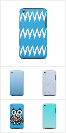 Blue iPod Touch Cases