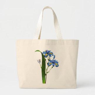 Blue Iris by Pierre-Joseph Redouté Tote Bag