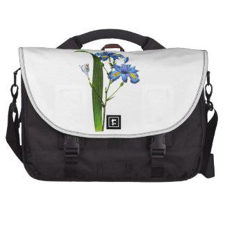 Blue Iris by Pierre-Joseph Redouté Laptop Bags