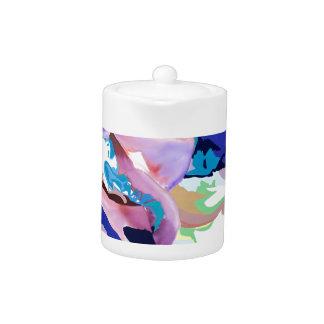 Blue Iris Collection Teapot