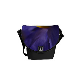 Blue Iris Delight Bag Courier Bag