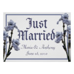 wedding, engagement, just married, sign, ceremony,