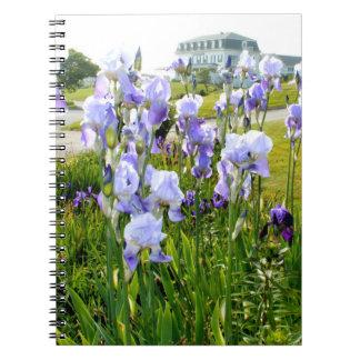 Blue Iris Notebook