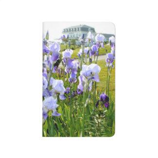 Blue Iris Pocket Journal