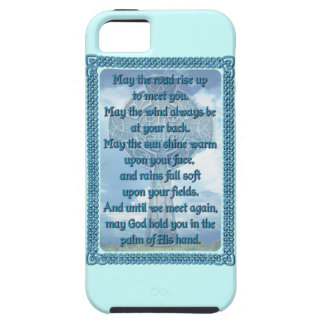 Blue Irish Blessing iPhone 5 Covers