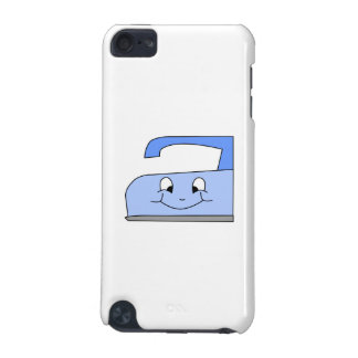 Blue Iron Cartoon On White iPod Touch (5th Generation) Case