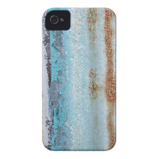 Blue iron texture wall iPhone 4 Case-Mate cases