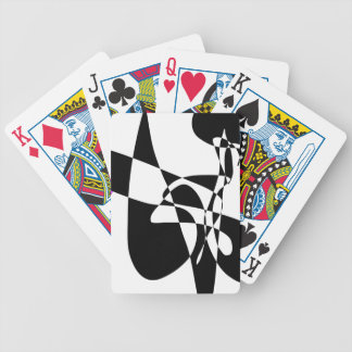 Blue Is Black, Yellow Is White Bicycle Playing Cards
