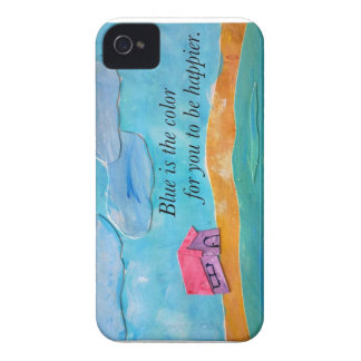 Blue is the color for you to be happier. Case-Mate iPhone 4 case
