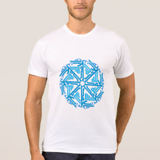 Blue Islamic Decoration Men's T-Shirt