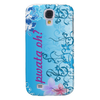 Blue Island Style iPhone G3 case Galaxy S4 Case