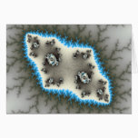 Blue Islands - Fractal Card
