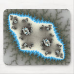 Blue Islands - Fractal Mousepad