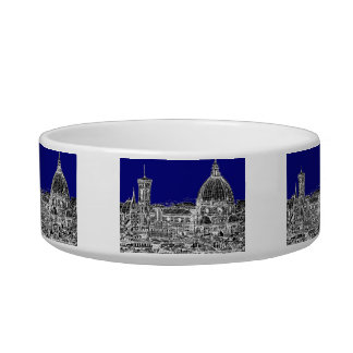 Blue Italian cathedral Bowl
