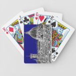 Blue Italian cathedral Playing Cards