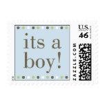 Blue Its a Boy Stamp