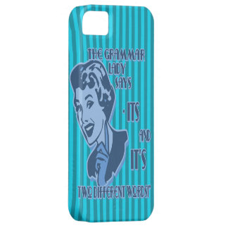 Blue Its and It's iPhone Case
