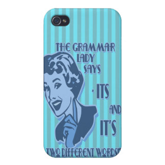 Blue Its and It's iPhone Speck Case