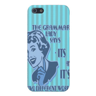Blue Its and It's iPhone Speck Case Case For iPhone 5
