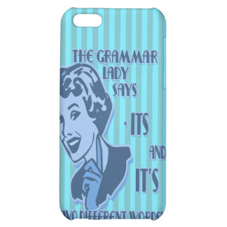 Blue Its and It's iPhone Speck Case iPhone 5C Cases