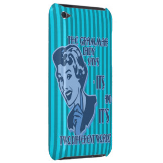 Blue Its and It's iPod Touch Case