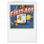 Blue J First-Ade Brand Oranges Card