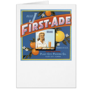 Blue J First-Ade Brand Oranges Cards