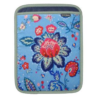 blue jacobian iPad sleeve