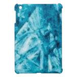 blue jags texture iPad mini cases