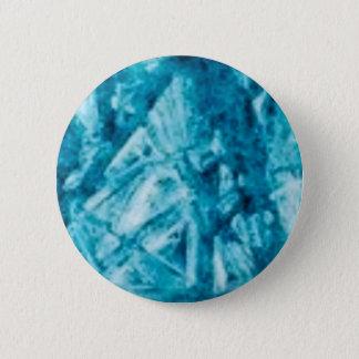 blue jags texture pinback button
