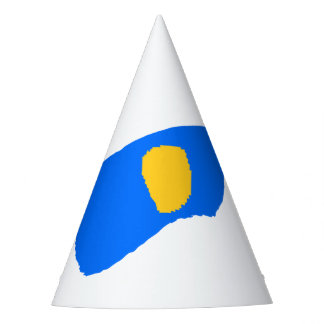 Blue Japan Party Hat
