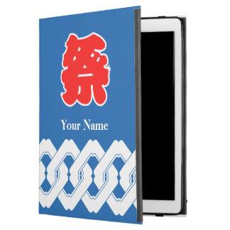 """Blue Japanese Festival Happi Coat iPad Pro 12.9"""" Case"""