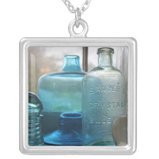 Blue Jar Pendant