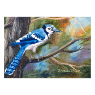 Blue Jay ArtCard Large Business Card