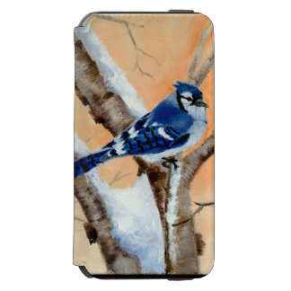 Blue Jay At Sunset iPhone 6/6s Wallet Case